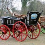 Museum Vreeburg Boerenwagen met dissel